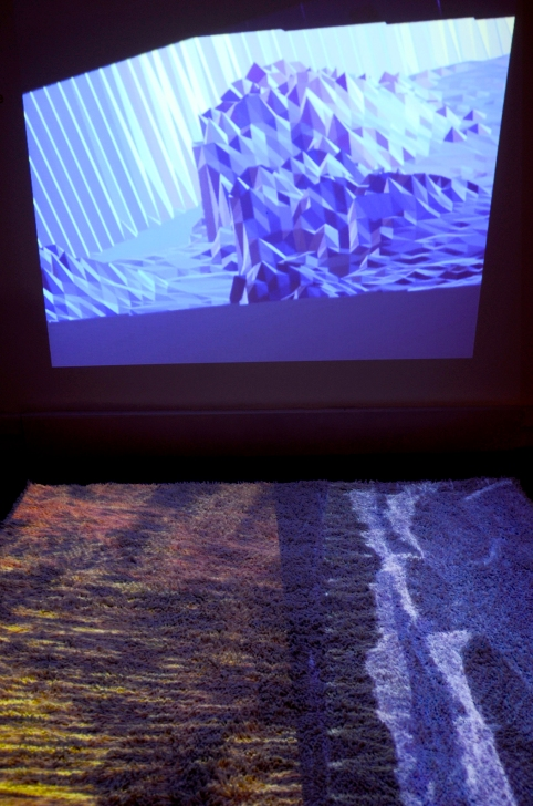 Installation at Bienal de Video y Artes Mediales - Deus EX Media - Museo de Arte Contempóraneo - Santiago - Chile -2012 - Photo by Chi Hua